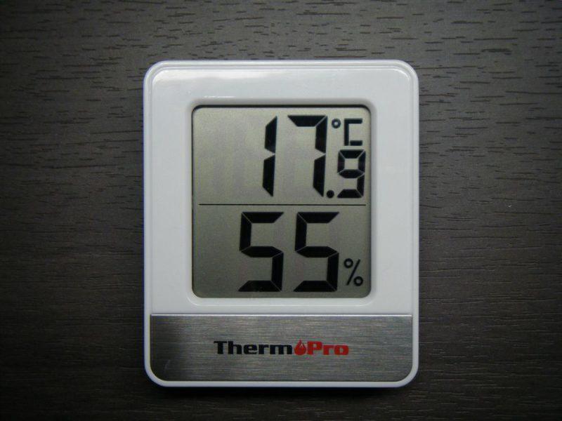 ThermoPro デジタル温湿度計 TP-49の摂氏のイメージ
