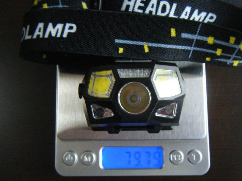 ヘッドライトKarrongの重量イメージ