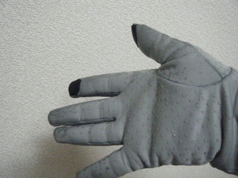 手袋の濡れ具合イメージ