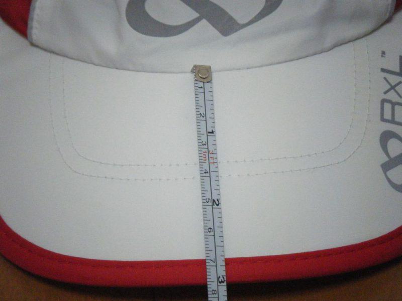 ツバの長さイメージ
