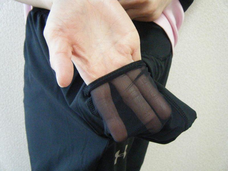 アンダーアーマーのロングパンツ1342887のポケット内側イメージ