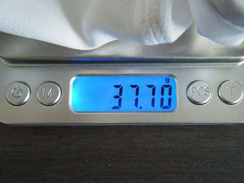 ノース・フェイスGTDキャップの重量イメージ