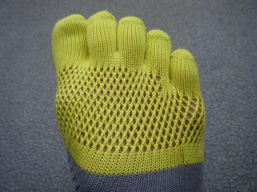 レーシングラン五本指のメッシュイメージ