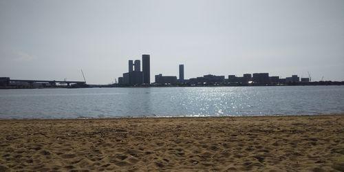 裸眼で見た海面イメージ
