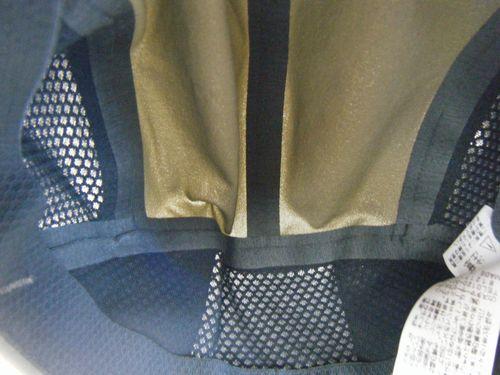 ノースフェイスのクライムキャップの内側イメージ