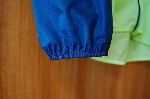 ノースフェイス インパルスレーシングジャケットの袖口イメージ