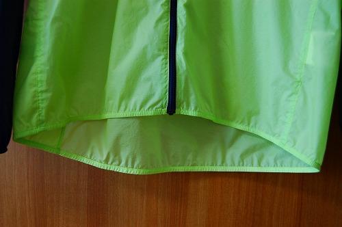 ノースフェイス インパルスレーシングジャケットのスソイメージ