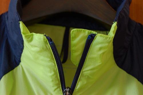 ノースフェイス インパルスレーシングジャケットのチンガードイメージ