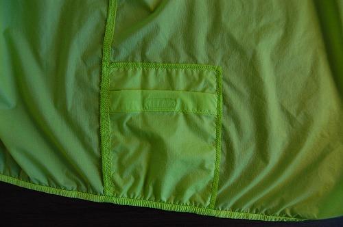 ノースフェイス インパルスレーシングジャケットの内側ポケットのイメージ