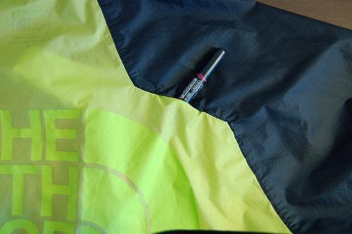 ノースフェイス インパルスレーシングジャケットのベンチレーターイメージ