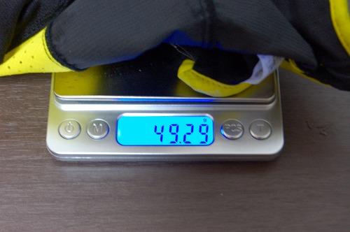 ランニング後のキャップ重量イメージ