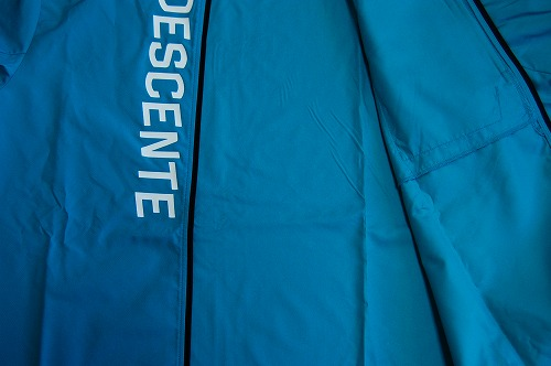 デサントウインドブレーカージャケット DRMQJF30の裏地イメージ