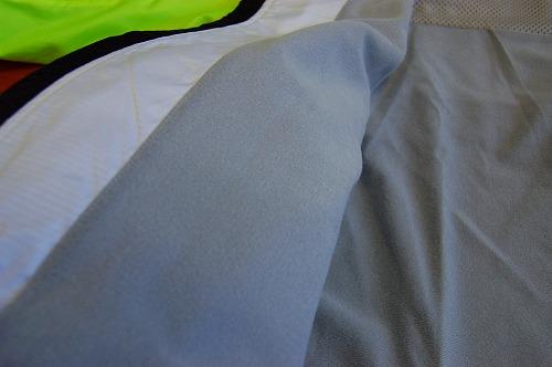 ヨネックス ウィンドウォーマーシャツの裏起毛イメージ