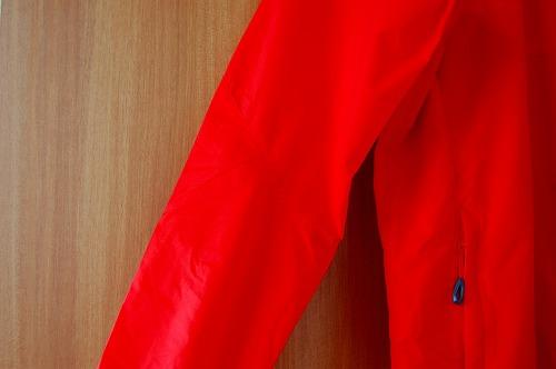 マムートウインドブレーカーグライダージャケット腕のイメージ
