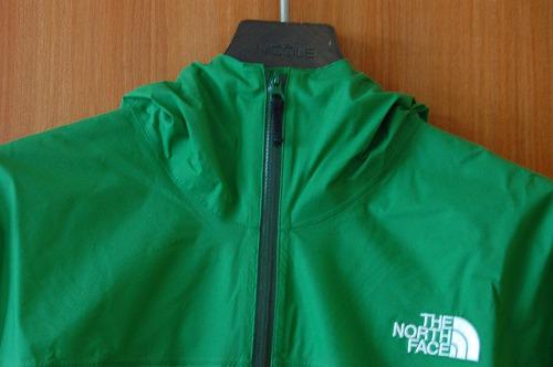 ノースフェイス ベンチャージャケット NP11536Kのフロントジッパーイメージ