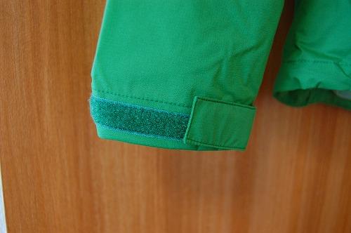 ノースフェイス ベンチャージャケット NP11536Kの袖口イメージ
