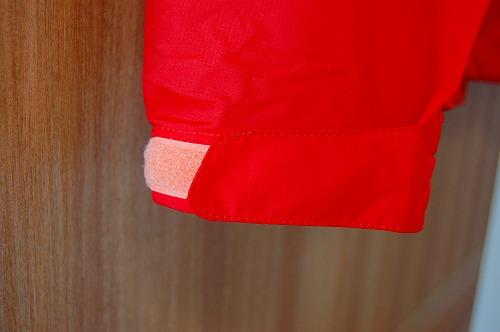 マムートウインドブレーカーグライダージャケットの袖口イメージ