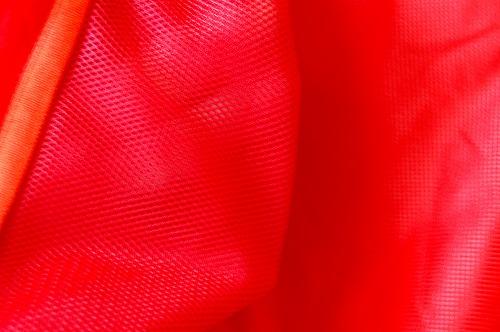 マムートウインドブレーカーグライダージャケットのジップポケット内側のイメージ
