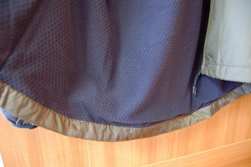 オークリー ENHANCE WIND WARM JACKET 9.7の裾イメージ