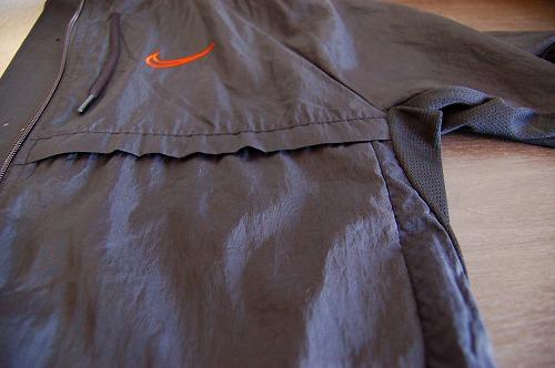ナイキ フルジップフーディ PX ジャケットの生地表面イメージ