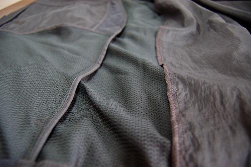 ナイキ フルジップフーディ PX ジャケットの裏地イメージ
