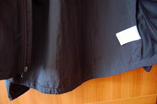 ナイキ フルジップフーディ PX ジャケットの裾イメージ