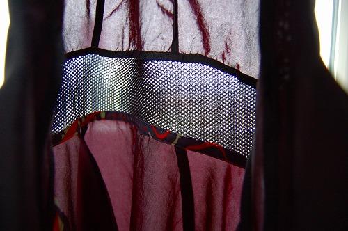 ナイキ フルジップフーディ PX ジャケットのフード部分メッシュイメージ