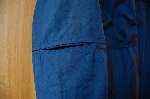 ナイキ フルジップフーディ PX ジャケットの肘部分の切れ込みイメージ