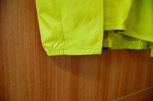 サロモン アジャイル ウインド ジャケットの袖口イメージ