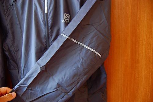 サロモン アジャイル ウインド ジャケットのリフレクターイメージ