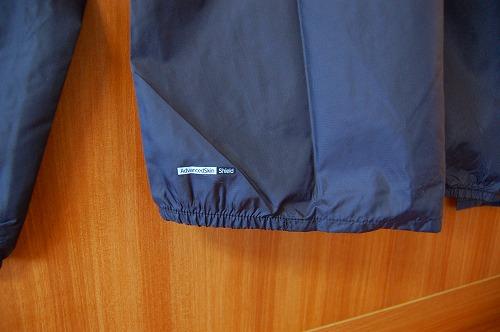 サロモン アジャイル ウインド ジャケットの裾イメージ