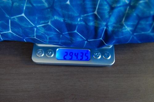 オークリー SKULL MARBLE GEO HYBRID JACKETの重量イメージ