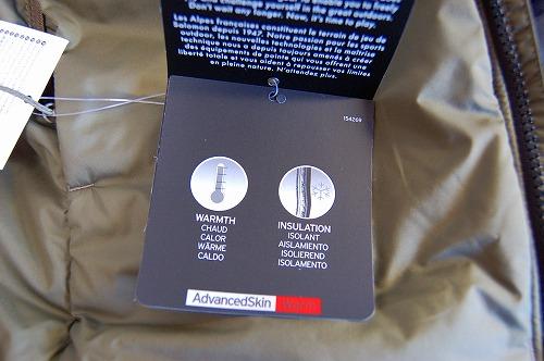 サロモン OUTRACK Insulated Jacket Men (アウトラック インサレーテッド) LC1395700のタグイメージ