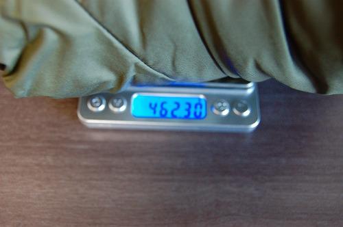 サロモン OUTRACK Insulated Jacket Men (アウトラック インサレーテッド) LC1395700の重量イメージ