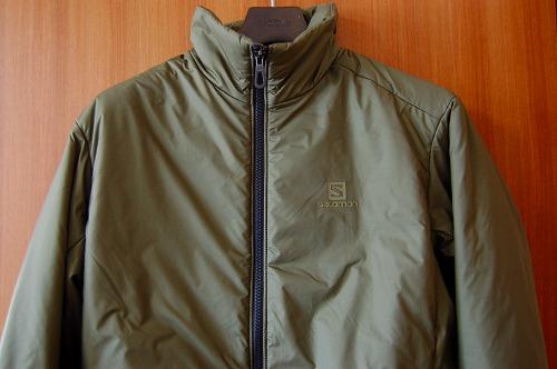 サロモン OUTRACK Insulated Jacket Men (アウトラック インサレーテッド) LC1395700の前面イメージ