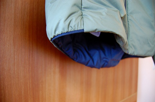 サロモン OUTRACK Insulated Jacket Men (アウトラック インサレーテッド) LC1395700の袖口イメージ